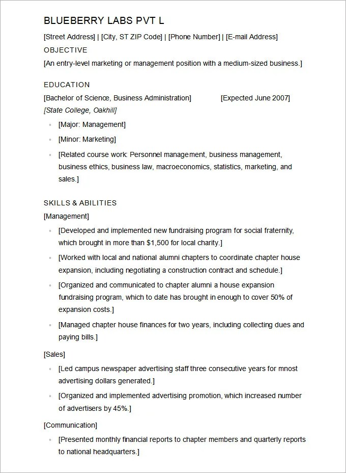 resume for college application template \u2013 brianhansme - Sample Resume College Application
