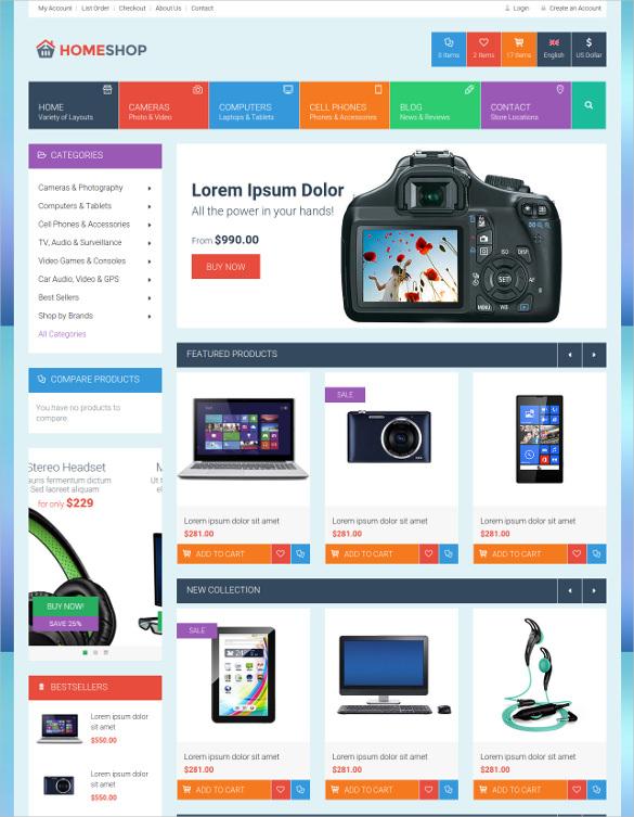 Html5 css3 template free ltt retail html5 css3 website template 17 maxwellsz