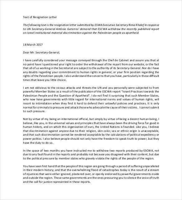 28+ Simple Resignation Letter Templates - PDF, DOC Free  Premium - how to write a resignation letter