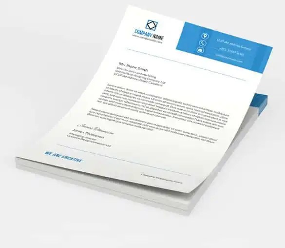 31+ Word Letterhead Templates - Free Samples, Examples, Format - stationery for word documents