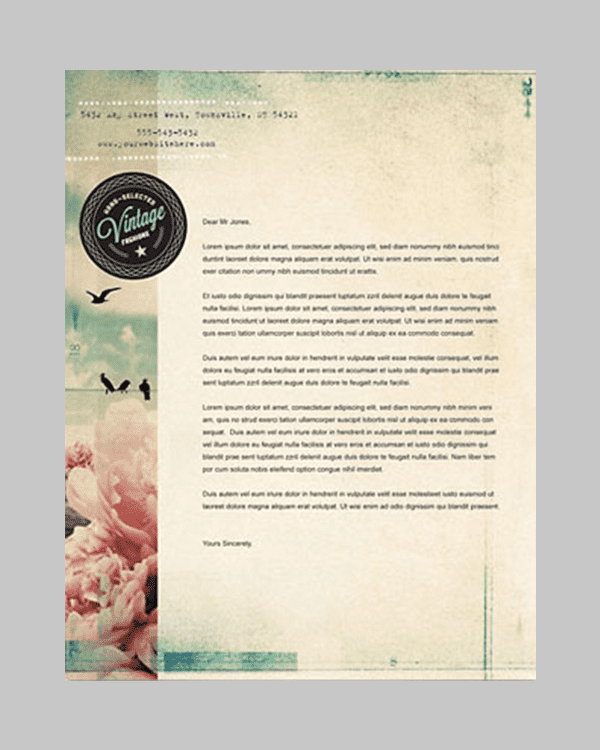 Business Letter Template For Word Sample Business Letter 31 Word Letterhead Templates Free Samples Examples