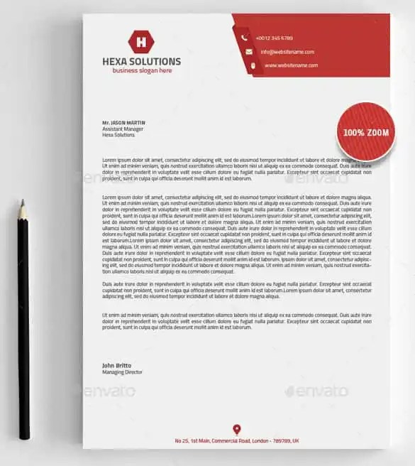 free business letterhead templates for word - Ozilalmanoof - Free Business Letterhead Templates For Word