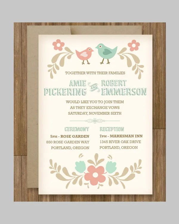 51+ Invitation Template - Free Word, PSD, Vector Illustrator - free invitation templates for word