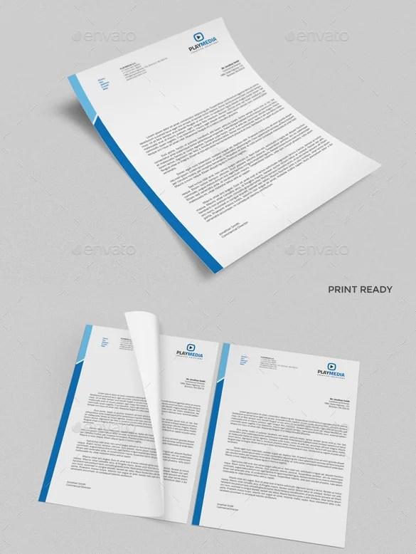 31 Word Letterhead Templates Free Samples Examples - oukasinfo - Free Business Letterhead Templates For Word