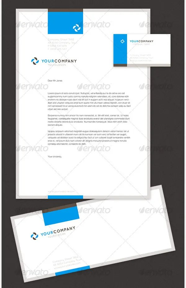 35+ Free Envelope Templates - Free PSD, Vector EPS, PNG Format - stationery for word documents