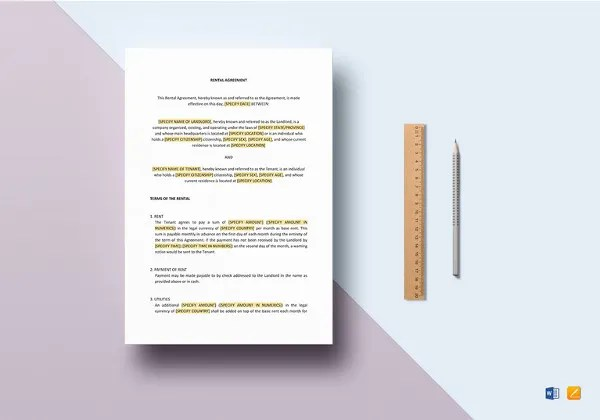 35+ Best Free Download MS Word Format Templates Free  Premium
