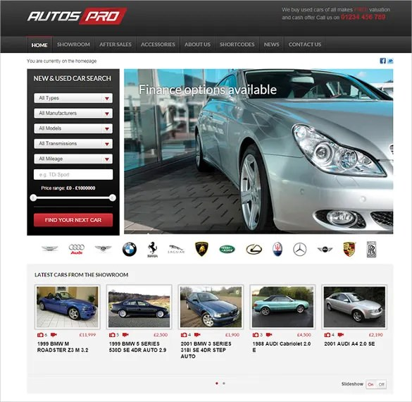 21+ Car Dealer WordPress Themes  Templates Free  Premium Templates