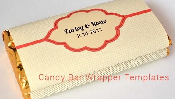 27+ Candy Bar Wrapper Templates - PDF, PSD, EPS Free  Premium