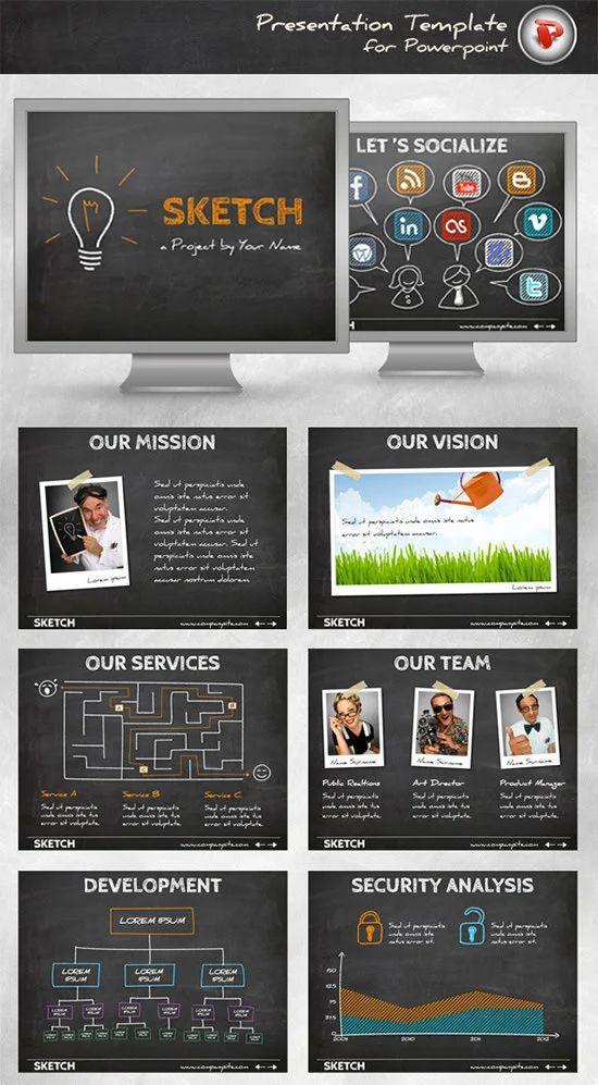 custom powerpoint designs