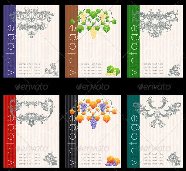 Wine Label Templates – Wine Bottle Labels Template Free