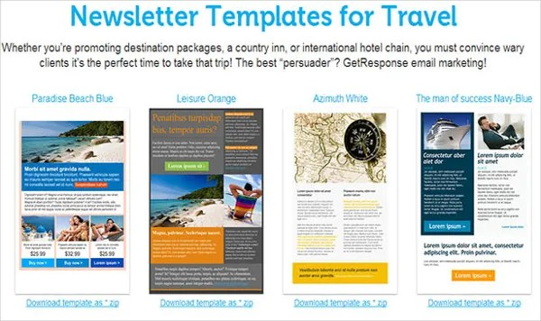 81+ Best Newsletter Templates 2018 Free  Premium Templates