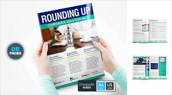 81+ Best Newsletter Templates 2018 Free  Premium Templates - corporate newsletter template