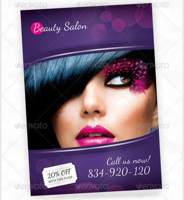 84+ Beauty Salon Flyer Templates - PSD, EPS, AI, Illustrator Free
