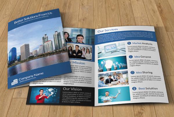 Printable Bi-Fold Brochure Templates - 79+ Free Word, PSD, PDF, EPS
