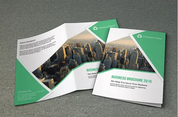 free bi fold brochure template - Pinarkubkireklamowe