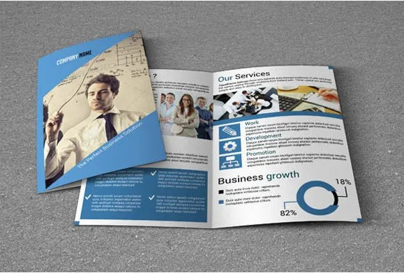 Sample Bi Fold Brochure Avenues BiFold Real Estate Brochure