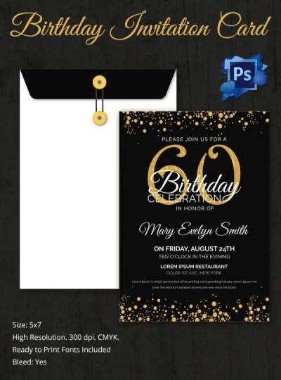 Birthday Invitation Template - 70+ Free PSD Format Download   Free & Premium Templates