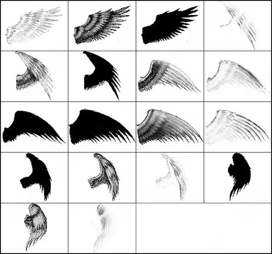 40+ Photoshop Premium Wing Brushes for Download Free Free