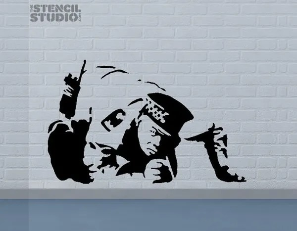 48+ Awesome Graffiti  SprayPaint Stencils for your Inspiration