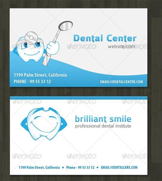 44+Dental Business Card Templates - PSD, Word, AI Free  Premium