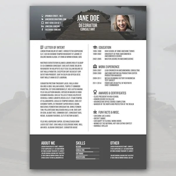 Creative Resume Template - 79+ Free Samples, Examples, Format - sample creative resume