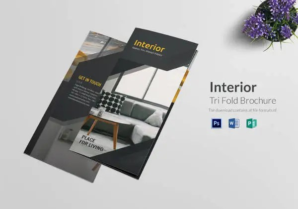 Interior Design Brochure - 14+ Free PSD, EPS, InDesign Format - architecture brochure template