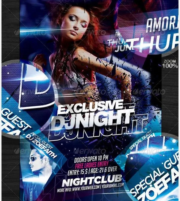 Attractive Girl Wallpaper 28 Stylish Psd Dj Flyer Template Designs Free Amp Premium