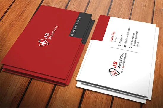 Medical Business Card Doctor Cardiology cards Pinterest - business card template for doctors