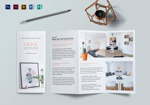 Interior Design Brochure - 13+ Free PSD, EPS, InDesign Format - interior design brochure template