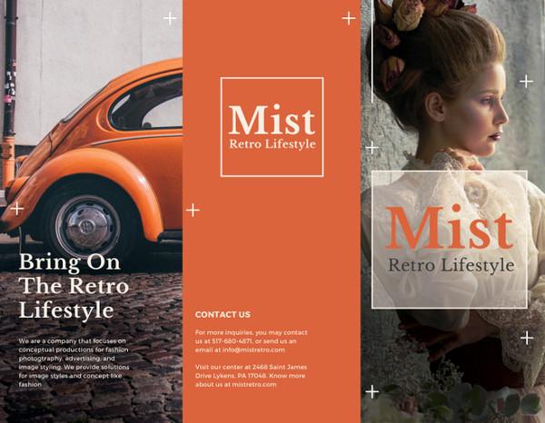Fashion Brochure Templates \u2013 52+ Free PSD, EPS, AI, Indesign Format - retro brochure template