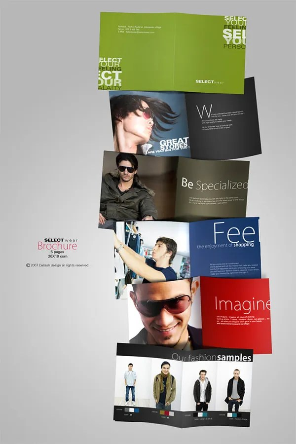 Fashion Brochure Templates \u2013 52+ Free PSD, EPS, AI, Indesign Format