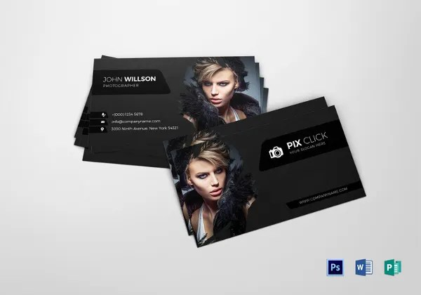 52+ Photography Business Cards Free Download Free  Premium Templates - card templates for pographers