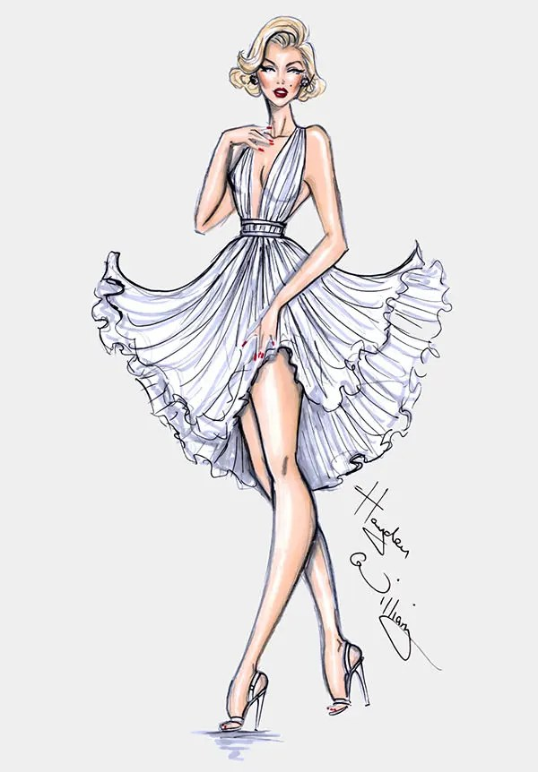 50+ Best Fashion Design Sketches for your Inspiration Free
