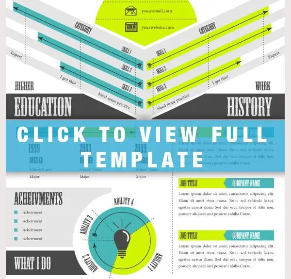 33+ Infographic Resume Templates - Free Sample, Example, Format - infographic resume templates