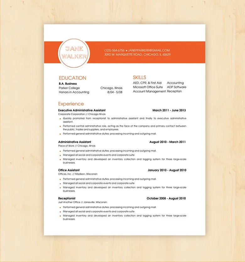 Basic Resume Template - 70+ Free Samples, Examples, Format Download - free resume templates doc