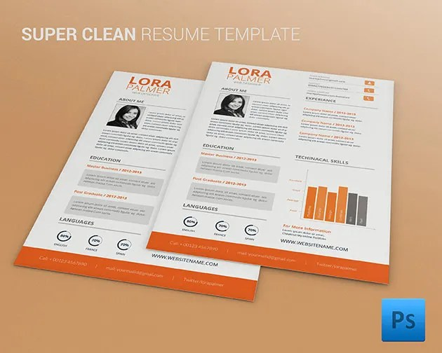 CV Templates - 70+ Free Samples, Examples, Format Download Free - resume cv templates free