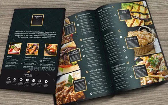 Menu Design Template \u2013 40+ Free PSD, EPS Documents Download! Free