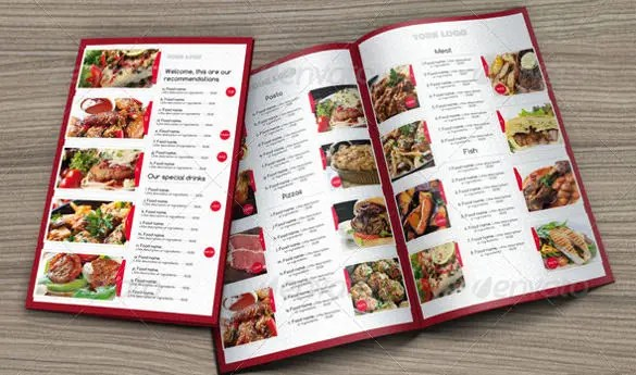 40+ Menu Design Templates \u2013 Free Sample, Example Format Download