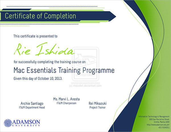 76+ Creative Custom Certificate Design Templates Free  Premium - design of certificate of participation