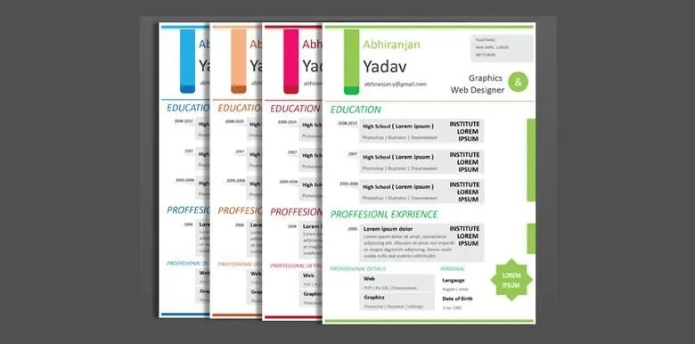 54+ Best Resume Formats - PDF, DOC Free  Premium Templates - creative professional resumes