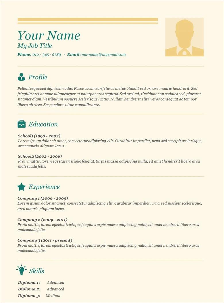 70 Basic Resume Templates Pdf Doc Psd Free