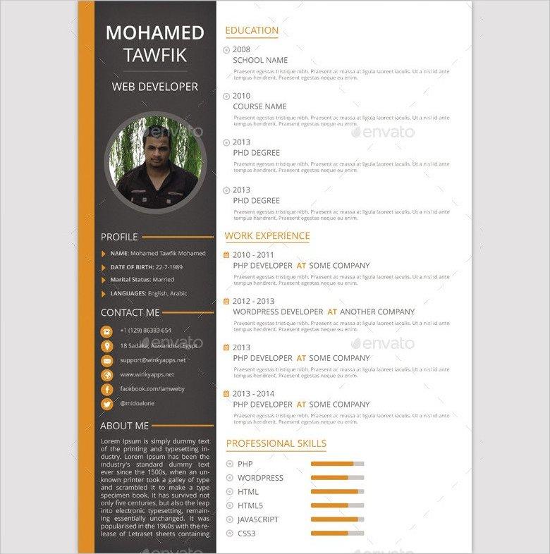 49+ Best Resume Formats - PDF, DOC Free  Premium Templates