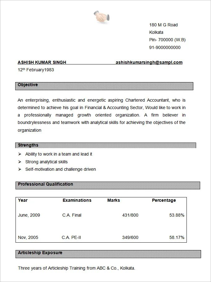 Resume Format Free Professional Gray Free Professional Resume