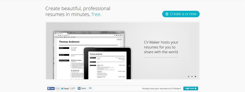 22+ Top Best Resume Builders 2016 Free  Premium Templates - best resume builder software