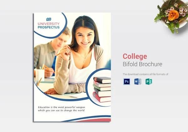 College Brochure Templates \u2013 41+ Free JPG, PSD, Indesign Format