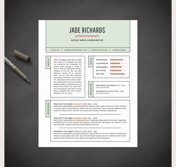 Lovely Stock Of Free Creative Resume Templates Word - Resume Templates - free creative resume templates word