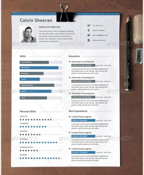 Creative Resume Template \u2013 81+ Free Samples, Examples, Format