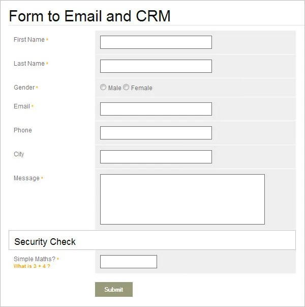 Customer contact form template colbro 35 best php contact form templates free premium templates maxwellsz