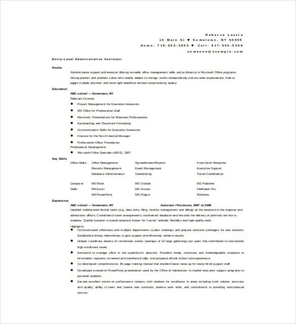 Best Resume Formats - 47+Free Samples, Examples, Format Free - free download biodata format