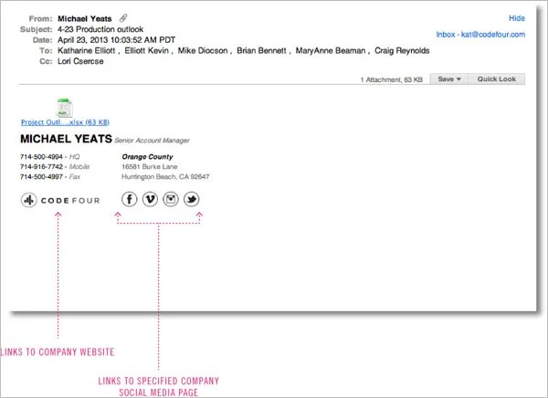 72+ HTML Email Signatures \u2013 Download  Use Instantly! Free - html template code